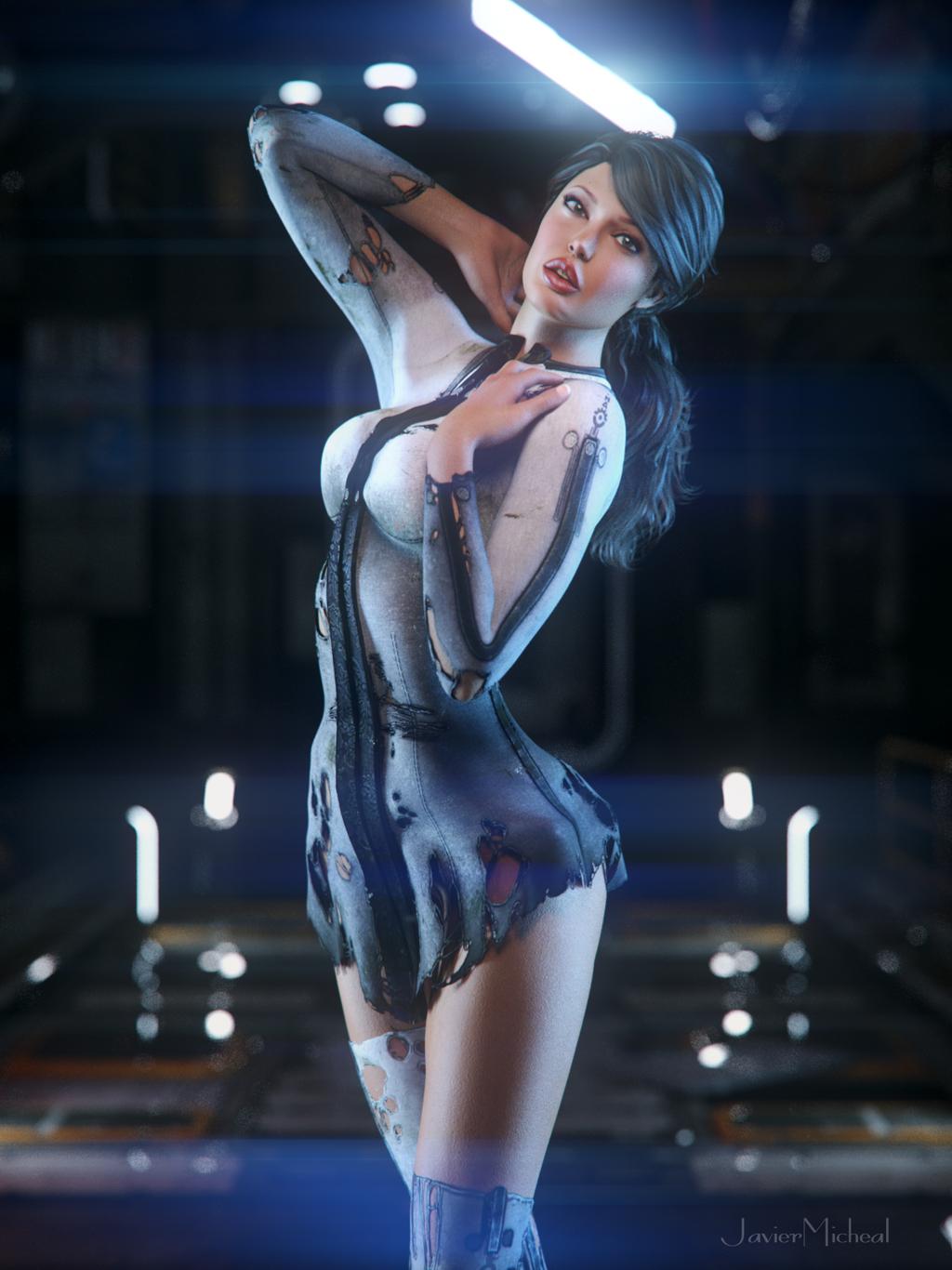 Sci fi babe nude, anna semenovich sexs