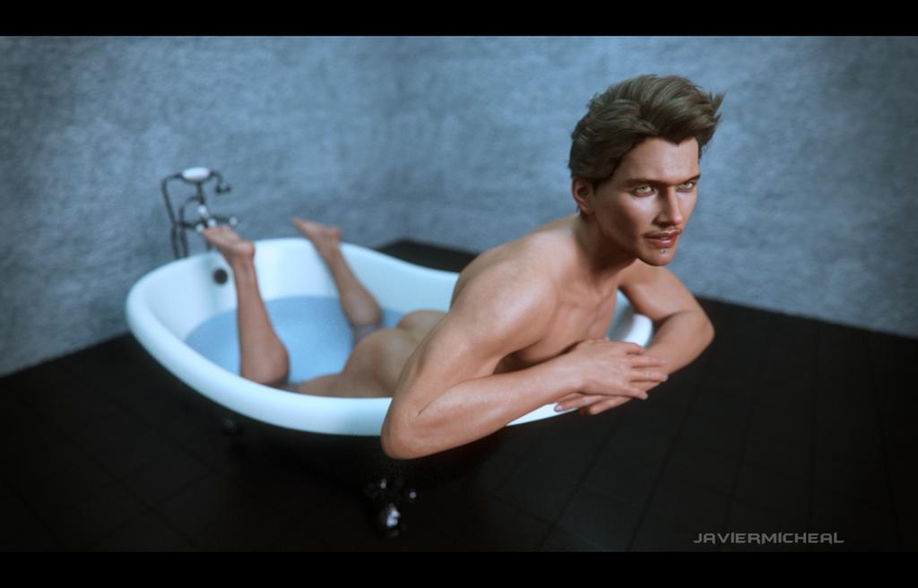 Bath Time by JavierMicheal