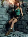 Lara Croft: Cautious Danger!!!!