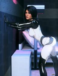 Mass Effect: Miranda by JavierMicheal