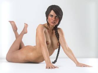 Lara Croft: Strip Down by JavierMicheal