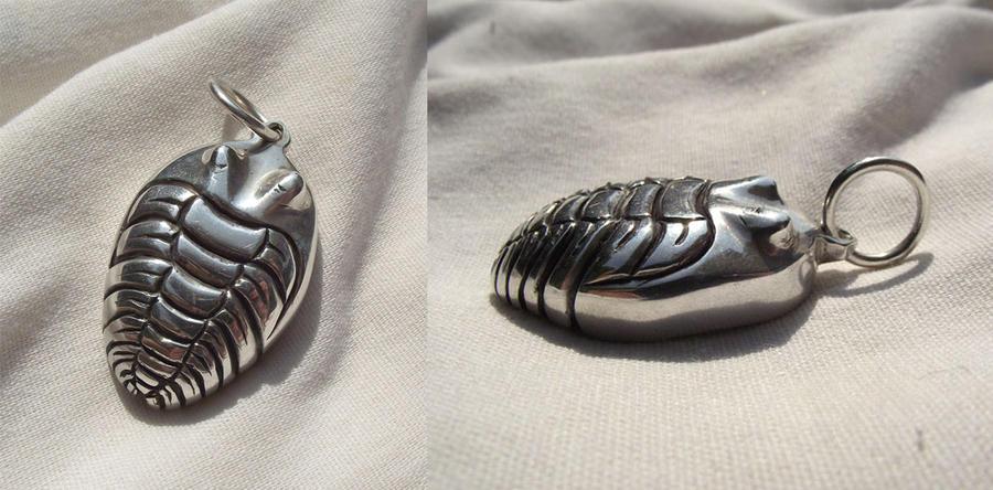 Trilobite pendant by ccris393 on deviantart trilobite pendant by ccris393 mozeypictures Image collections