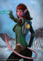 Talwyn Apogee from Ratchet and Clank by MeLiNaHTheMixed