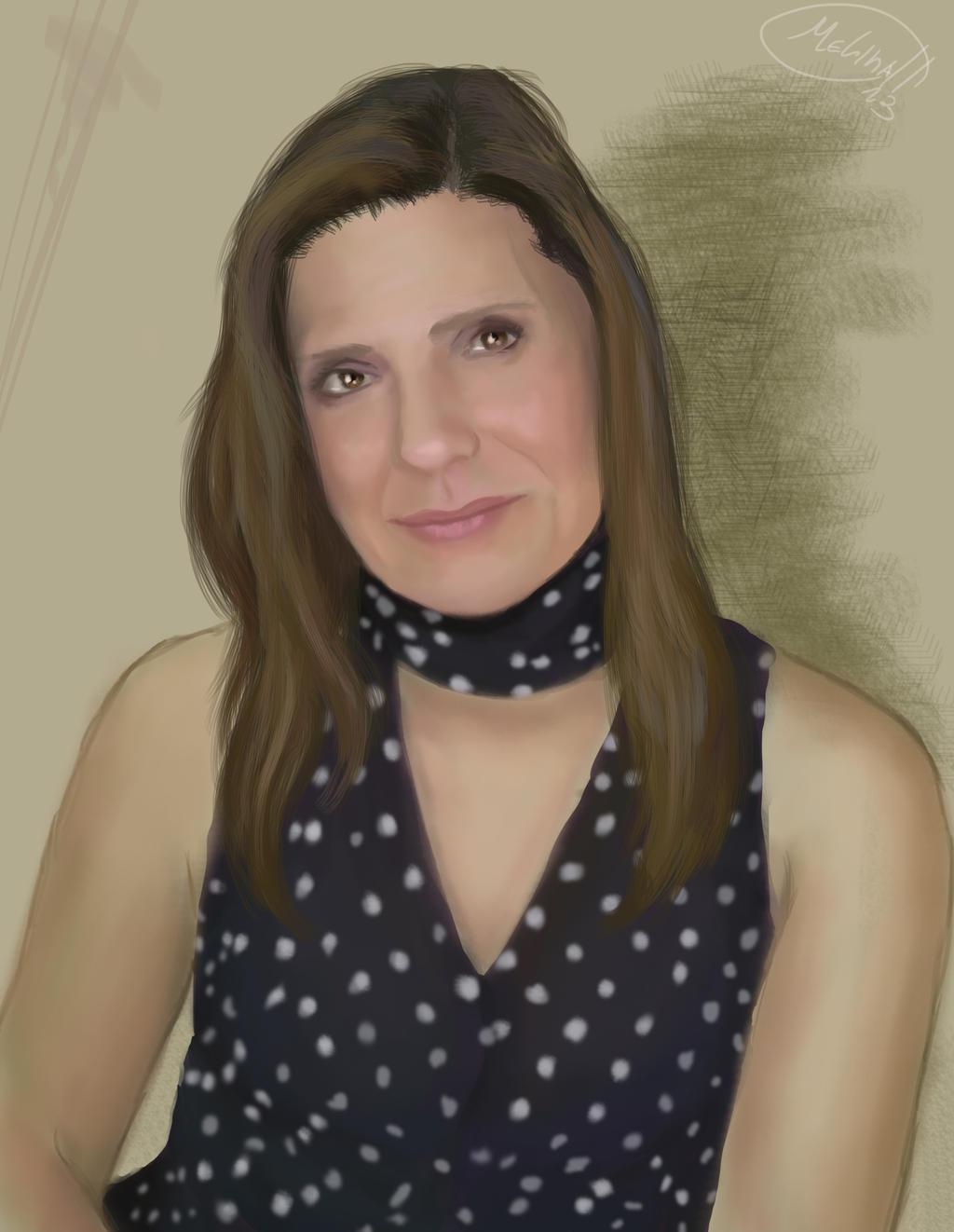 Portrait by MeLiNaHTheMixed
