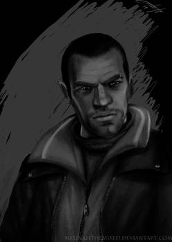 Niko Bellic from GTA IV