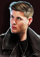 Dean Winchester from Supernatural by MeLiNaHTheMixed