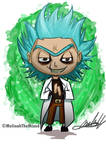 Chibi- Evil Rick (Rick and Morty)