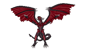 YugiOh5Ds:Red Daemons Dragon by hardedge-spriter
