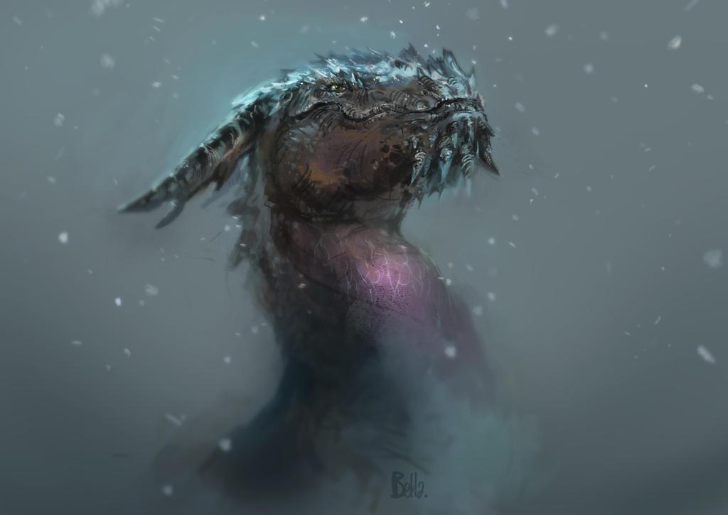 Icey Beast by koel-art