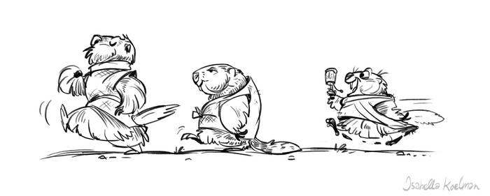 Marmot monks