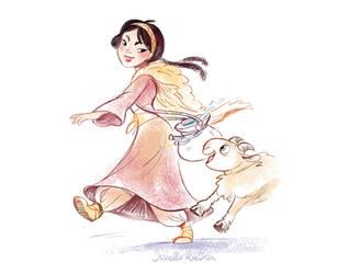 Snowwhite and Sheep