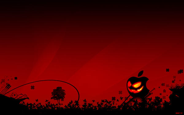 Apple Halloween by bioeraser