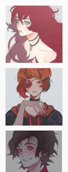 parts of headshot commissions ~ by choco0950