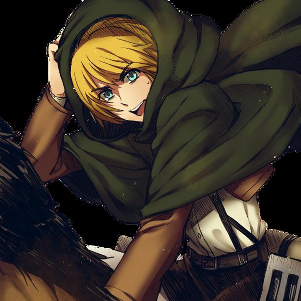 Armin Arlert Render |Shingeki no Kyojin| by Fujoshi-Kuro