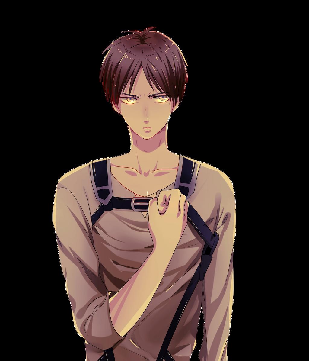 Eren Jaeger Render |Shingeki no Kyojin| by Fujoshi-Kuro