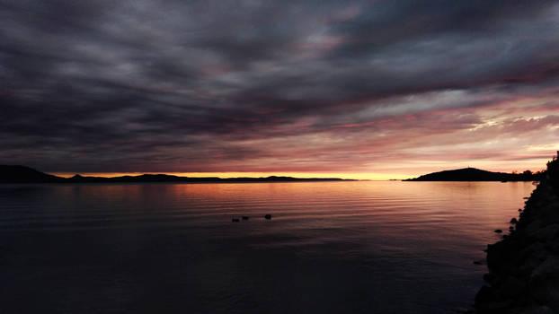 Balaton napkelte sunrise