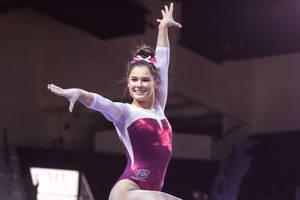 Plaksa Gianna gymnast girl