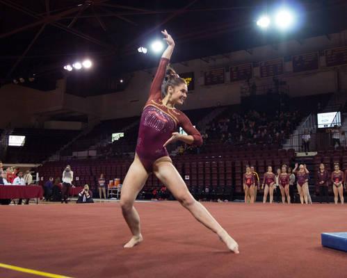 Gianna Plaksa 12 gymnast girl