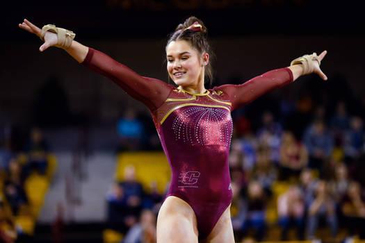 Gianna Plaksa gymnast girl 4