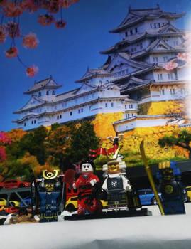 LEGO samurai shogun and geisha