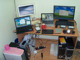 My current workspace by siriusianin
