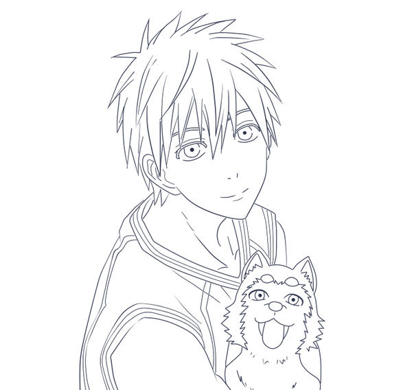 Anime Baby Coloring Pages