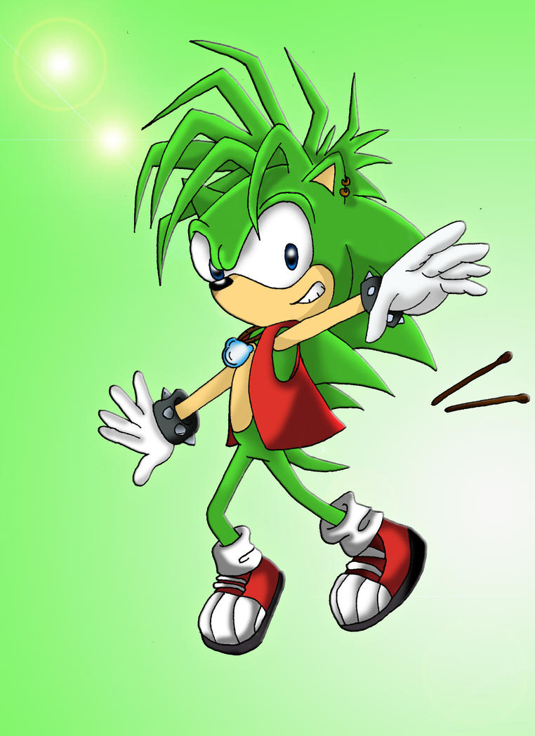 Manic the Hedgehog by Tazimo on DeviantArt