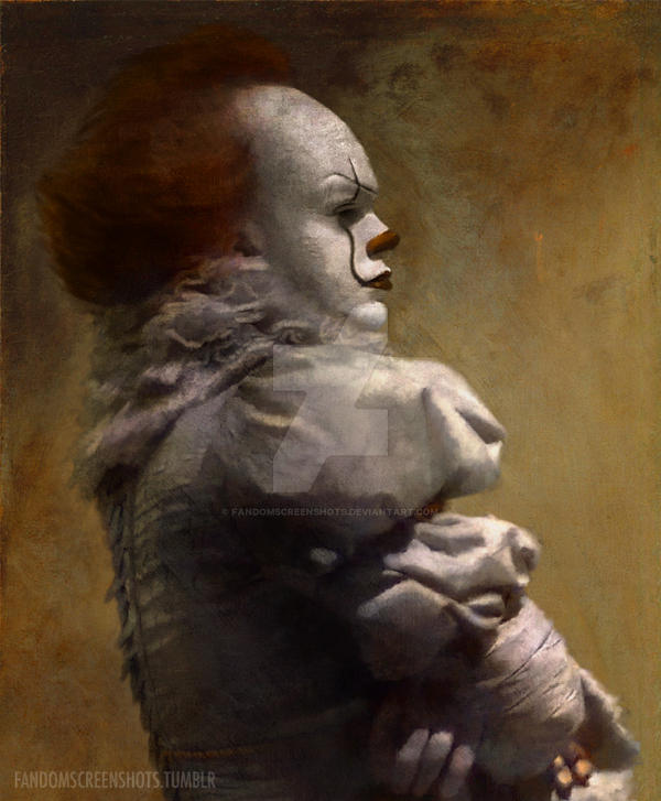 Pennywise Renaissance Painting