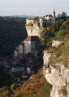 Rocamadour 01 - General view by HermitCrabStock