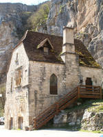 Rocamadour 12B - Old house by HermitCrabStock