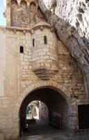 Rocamadour 34 - Watch turret by HermitCrabStock
