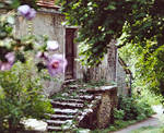 Montvalent - old stairs
