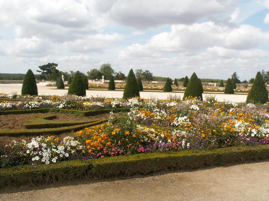 Versailles garden by HermitCrabStock