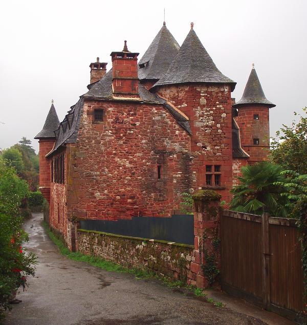 Collonges 08 - Manor by HermitCrabStock