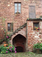 Collonges 43 - Stairs by HermitCrabStock