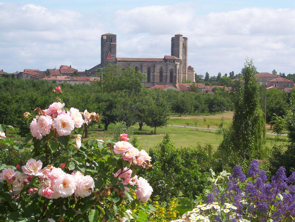 Coursiana gardens La Romieu by HermitCrabStock