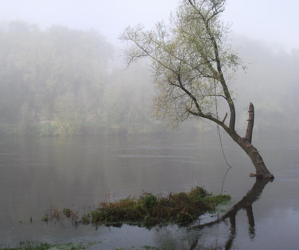 Fog on the Dordogne river 07 by HermitCrabStock