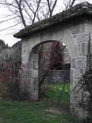 Thegra 01 - Arch gate by HermitCrabStock