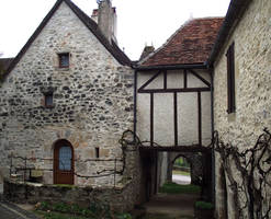 Loubressac 04 - medieval house by HermitCrabStock