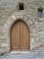 Medieval door 03 by HermitCrabStock