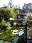 Creysse- bridge and stream