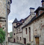 Medieval street - Curemonte 04