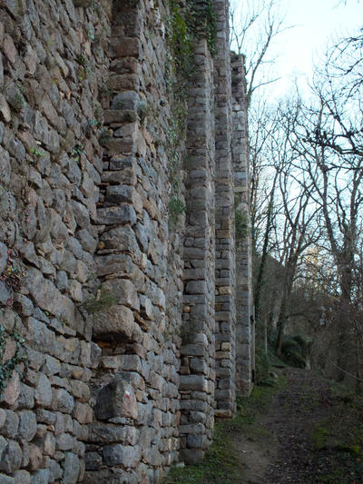 Medieval ruins - Peyrusse-le-Roc 02 by HermitCrabStock
