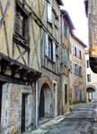 Medieval street - Cahors 21