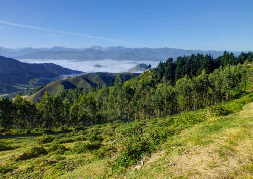 Picos de Europa 129 - Mountains - Sea of clouds