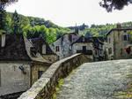 St Cirq Lapopie 22 - Medieval street