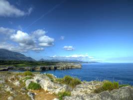 Asturias 2013 (18) Cliff by HermitCrabStock