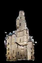 Fantasy Tower 03 by HermitCrabStock