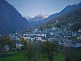 Luz St-Sauveur 07 - Mountain Village by HermitCrabStock