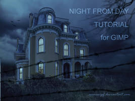 Night From Day Tutorial For Gimp